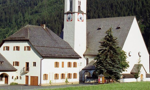Das Beinhaus in Elbigenalp