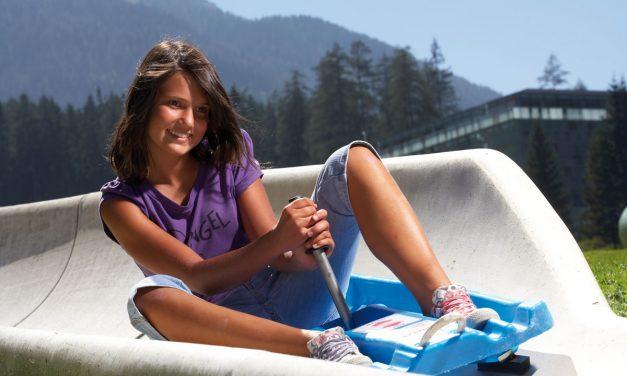 Die Sommerrodelbahn in Biberwier – die längste in Tirol.
