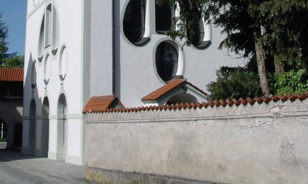 Sebastiankirche am  Alten Friedhof