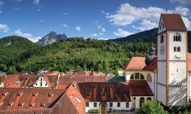 De Sint-Michielskerk in Füssen