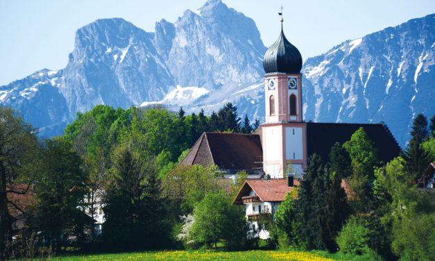 Die Rokoko-Kirche St. Ulrich in Seeg